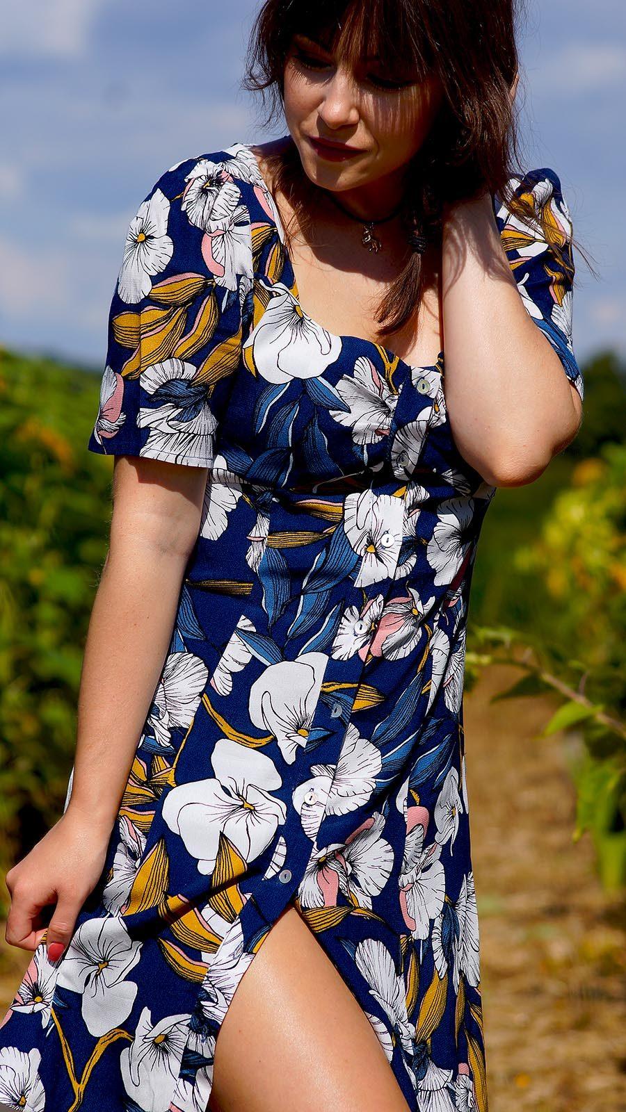 Blumne Kleid | Modeblog aus Deutschland