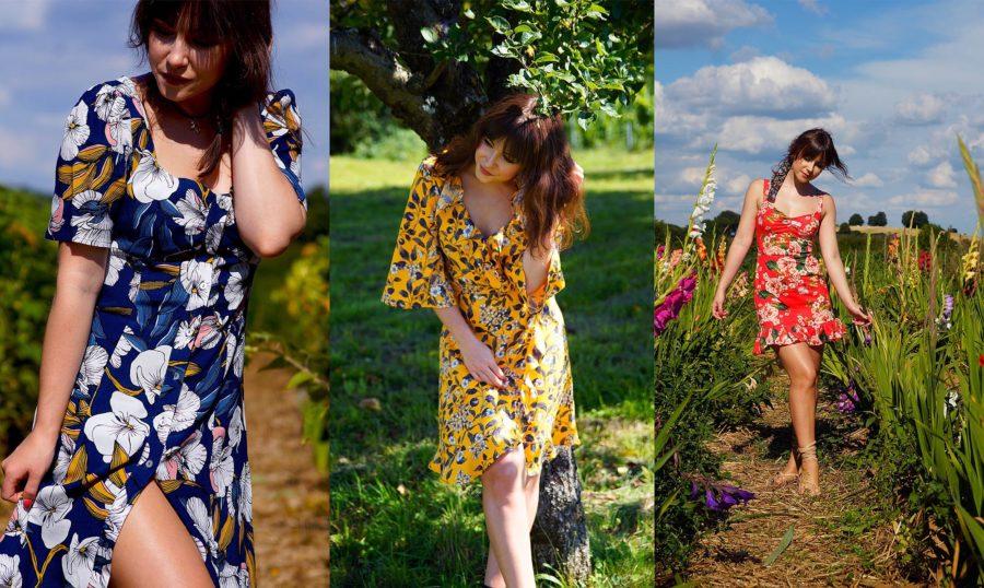 Sommer-Blumen-Kleid| Modeblog aus Deutschland