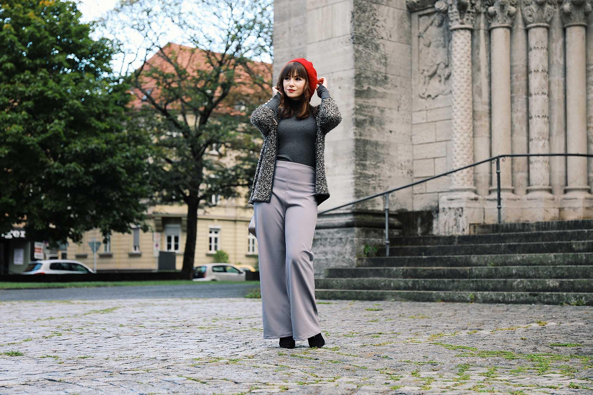 Palazzo Hose fürs Büro richtig kombinieren | Fashion Blog Deutschland