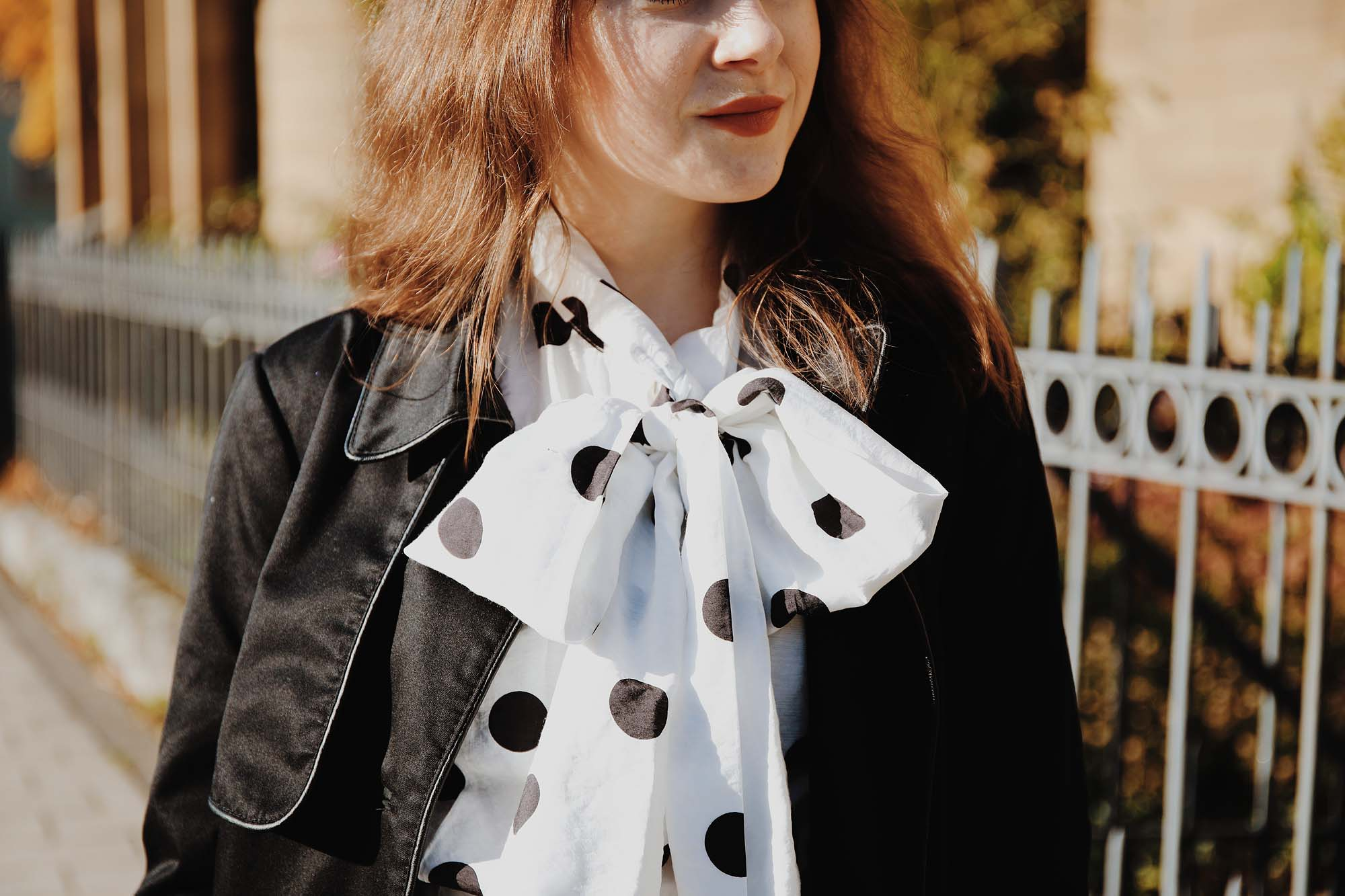 So trägst du Polka Dots im Herbst | Fashion Blog Deutschland