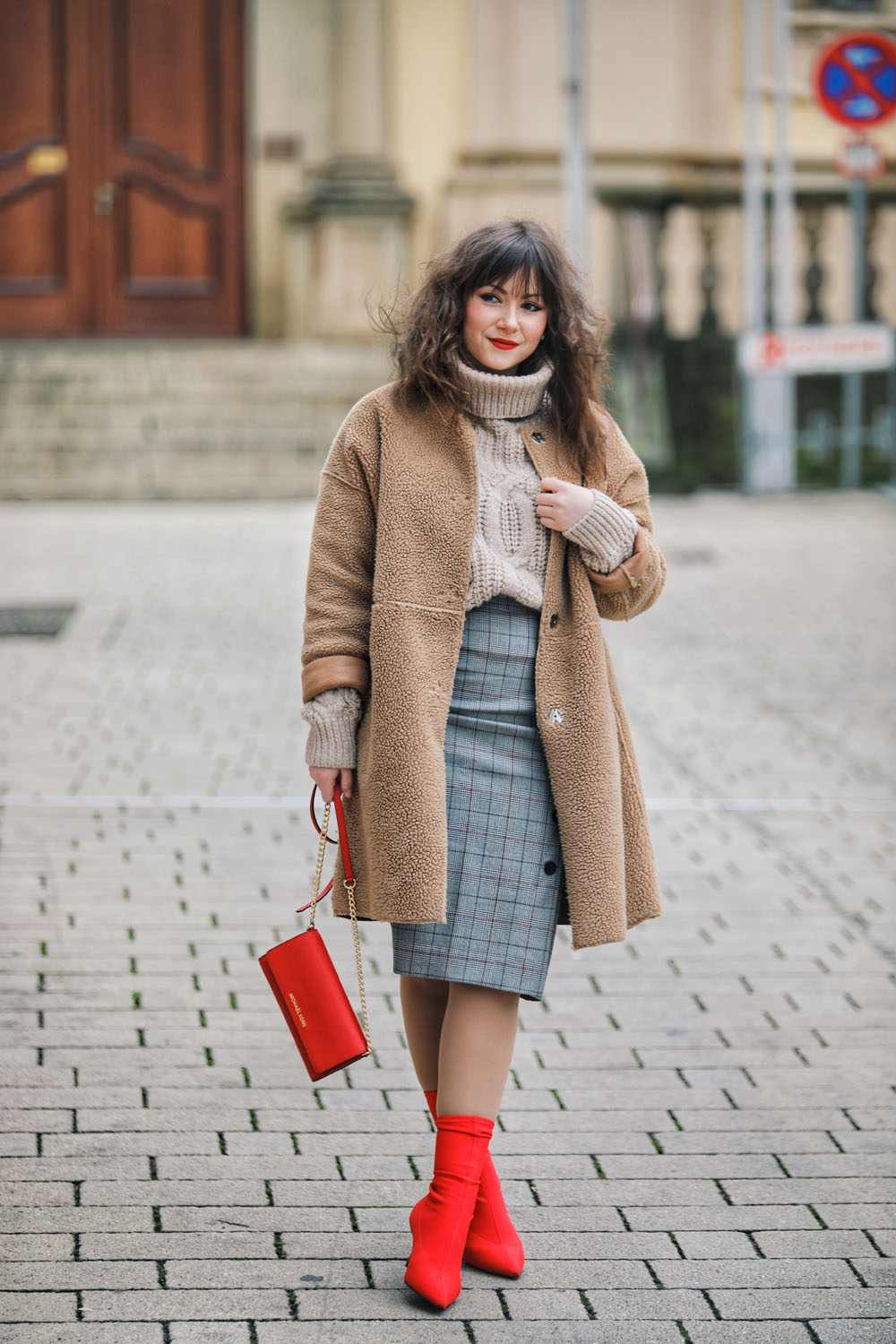 Winter Office/Büro Outfit