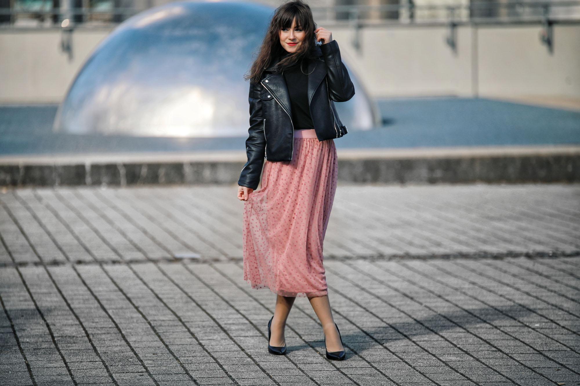 Tüllrock-kombinieren-Frühling/Sommer Trend-2018-Modeblog-Style by An