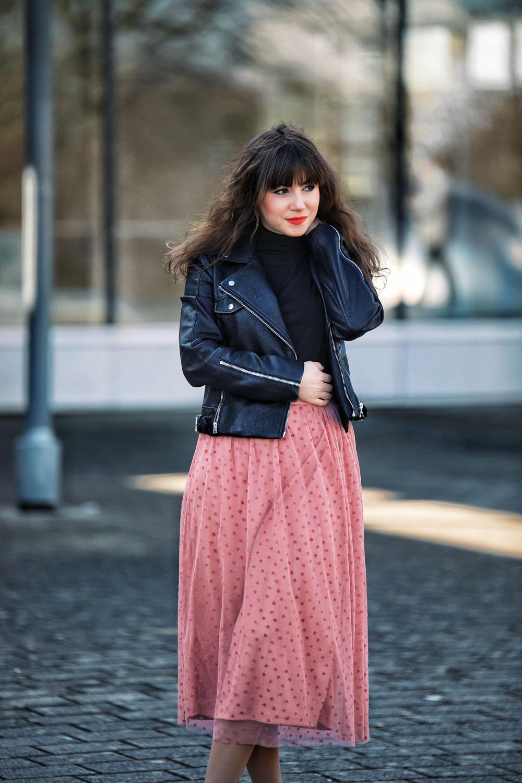 Tüllrock-kombinieren-Frühling/Sommer Trend-2018-Modeblog