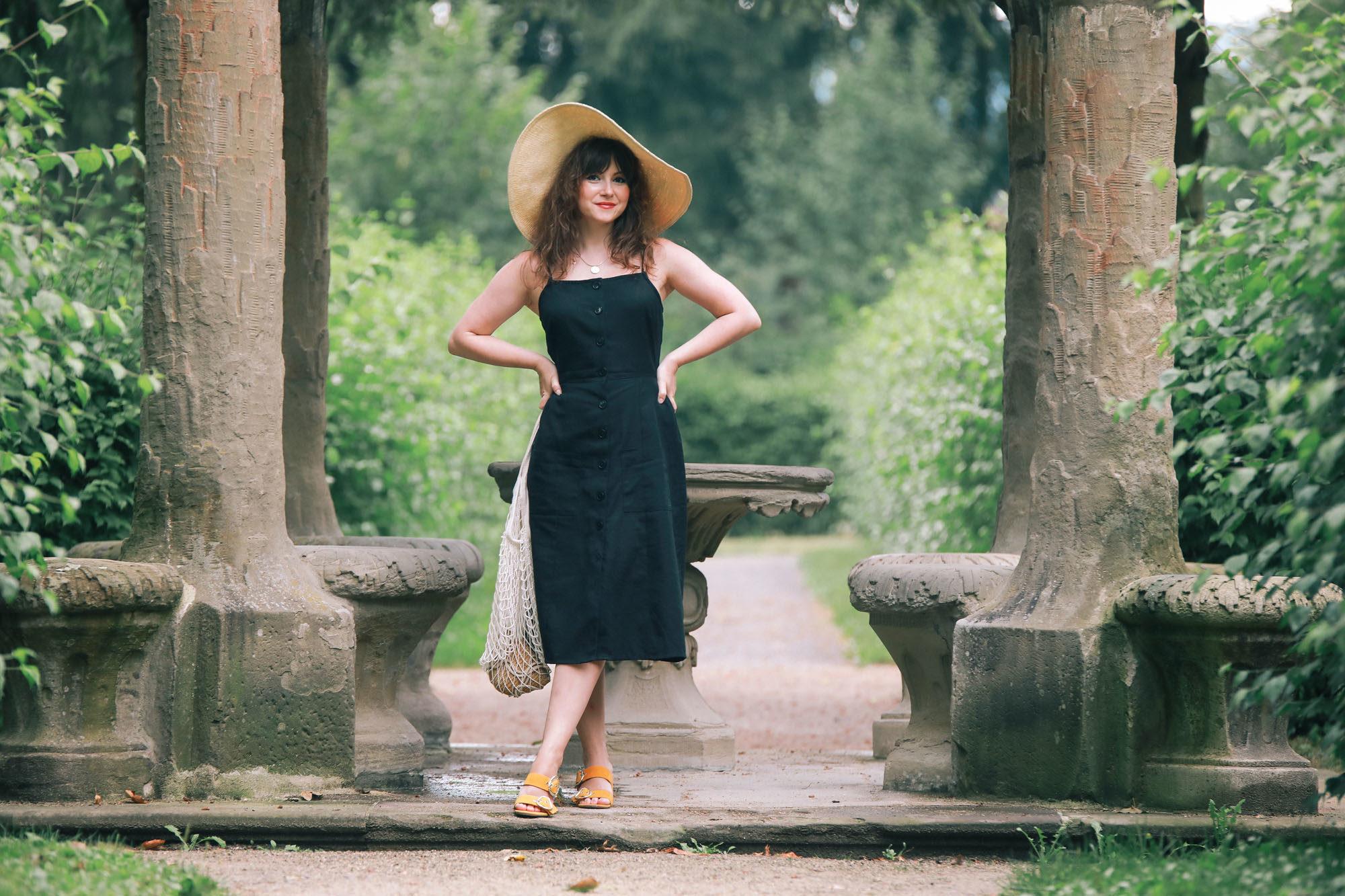 Outfit Inspiration: So kannst du Schwarz auch im Sommer tragen