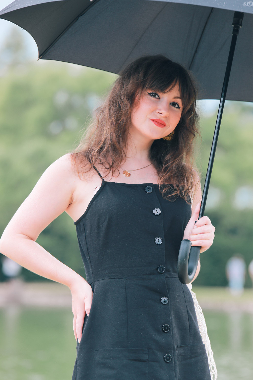 Schwarz auch im Sommer tragen | Modeblog Style by An